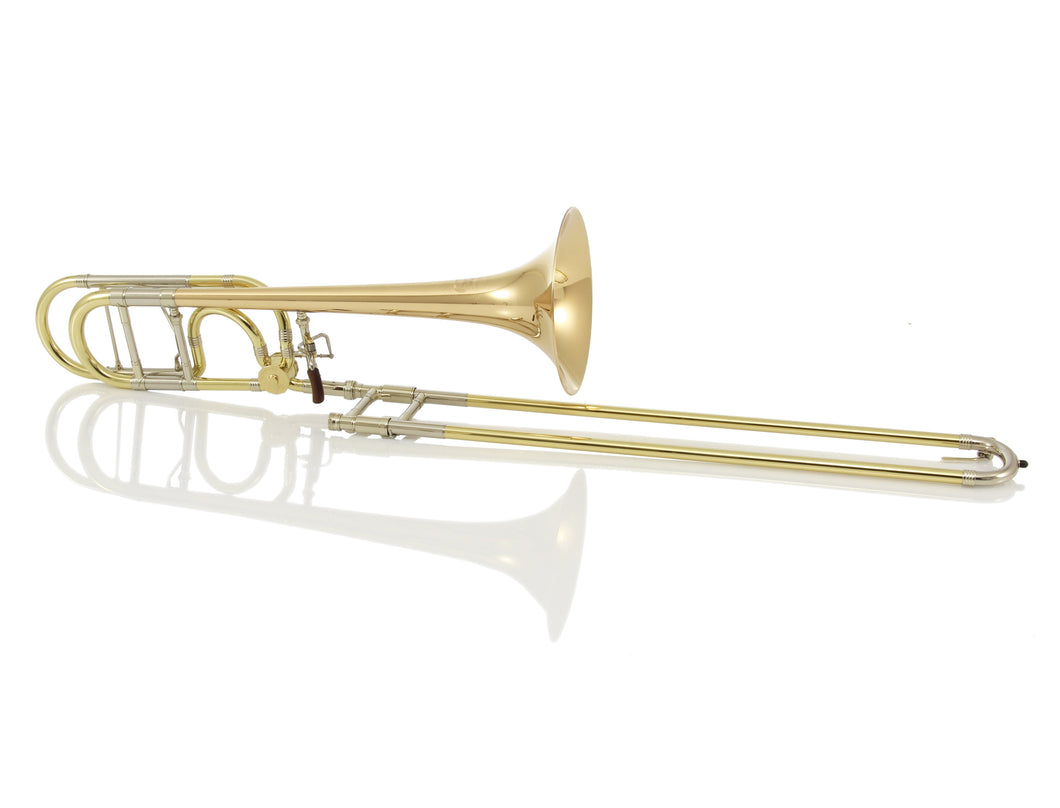 GREENHOE GB4-1G GOLD BRASS TENOR TROMBONE