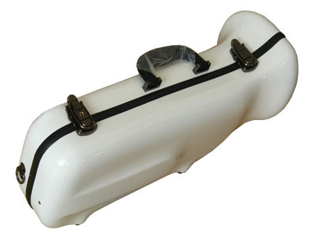 Eastman Fiberglass Single Trumpet Case-Pebble White