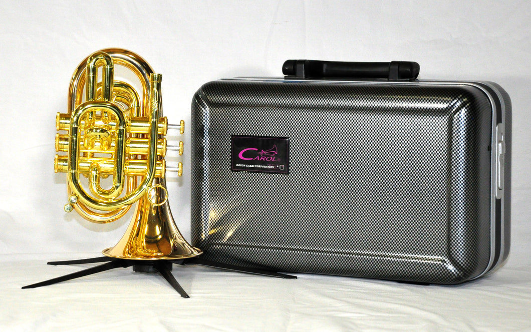 Carol Brass Pocket Trumpet