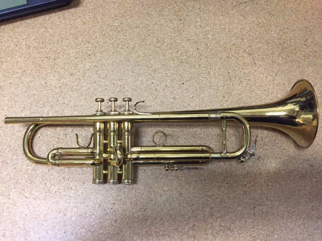 Used L.A. Benge 3X Plus Bb Trumpet