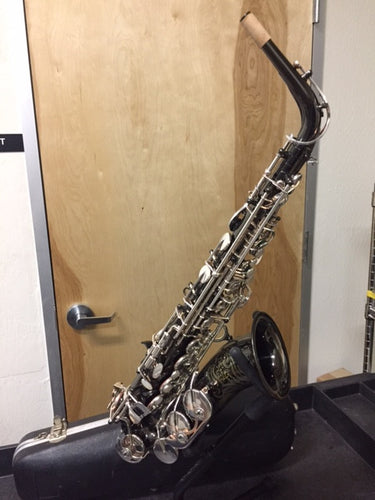 Guardala Alto Saxophone Black Nickel Finish