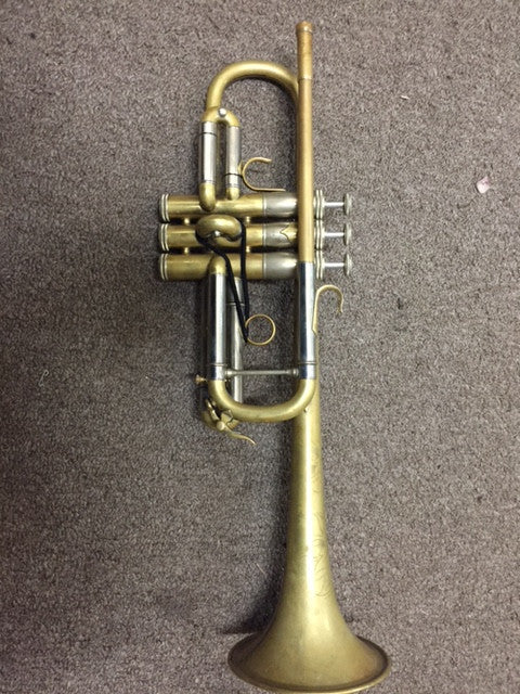 Used Shires 4F Custom C Trumpet