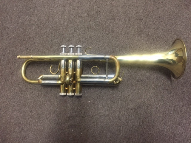 Shires C Trumpet Raw Brass