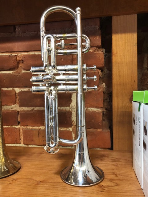 Used Conn 80A Cornet Silver Plated