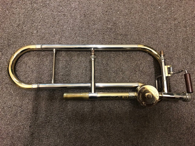 Shires Tru Bore Tenor Trombone Valve Section