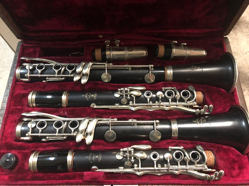 Selmer Brevette Bb and A Clarinet Combination