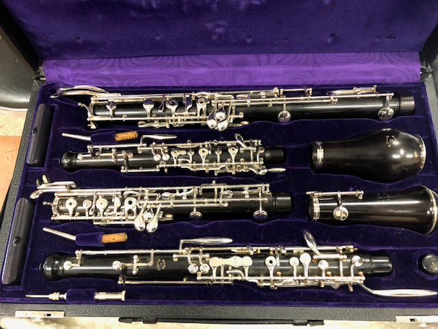 Used F Loree English Horn & Oboe Set