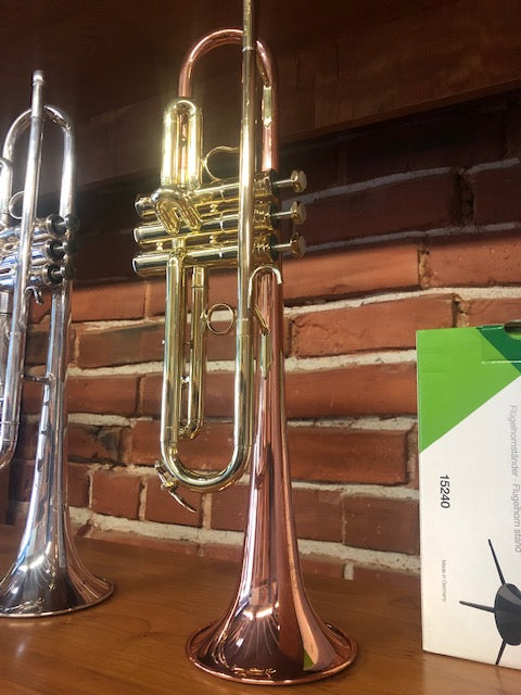 Demo Schilke HC2 Bb Trumpet in Lacquer