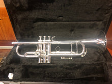 Demo Model King 2055T Silver Flair Trumpets