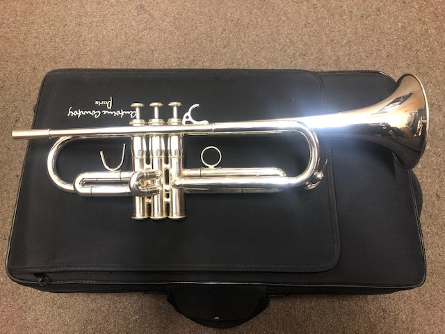 New Old Stock Courtois 307 Silver Bb Privilege Trumpet