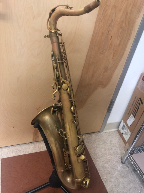 Eastman 52nd Tenor Saxophone in Raw Brass