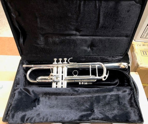 Demo King 2055T Silver Flair Bb Trumpet
