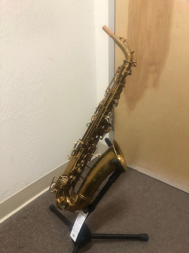 Buescher Aristocrat True Tone Low Pitch Alto Saxophone