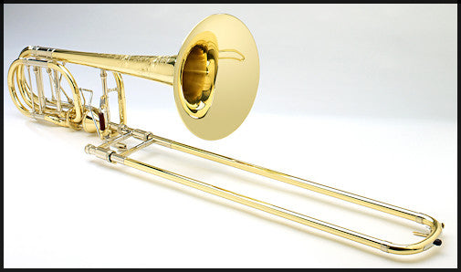 Shires Custom Bass Trombone with Axial-Flow F/G♭ Attachment