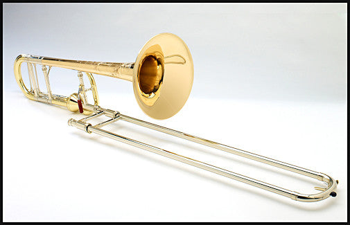 Shires Chicago Model Tenor Trombone with Axial-Flow F Attachment