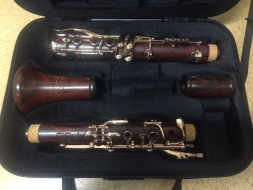 Brand New Backun Protege Bb Clarinet Rose Gold Keys