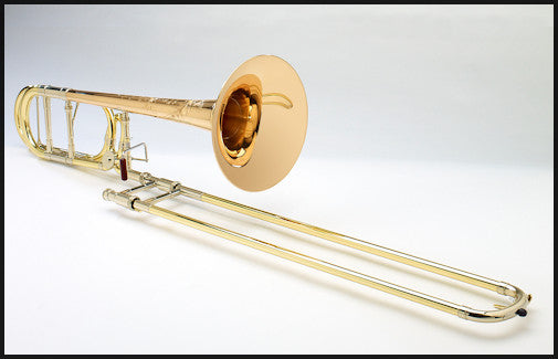 Shires Ralph Sauer Artist Model Tenor Trombone with Dual-Bore F Attachment