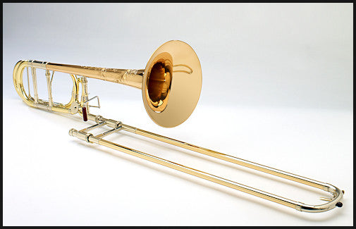 Demo Shires Vintage Elkhart Tenor Trombone with Dual-Bore F Attachment