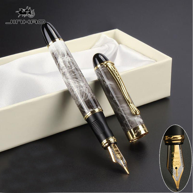 High Quality Iraurita Fountain Ink Pen Full Metal Golden Clip