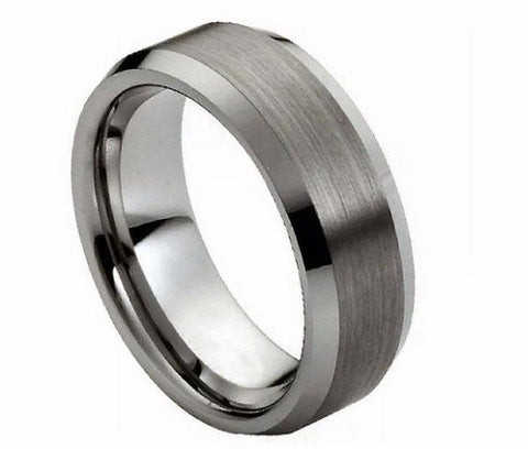 wolfram rings, tungsten wedding bands