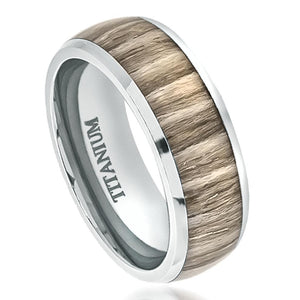 wood inlay rings