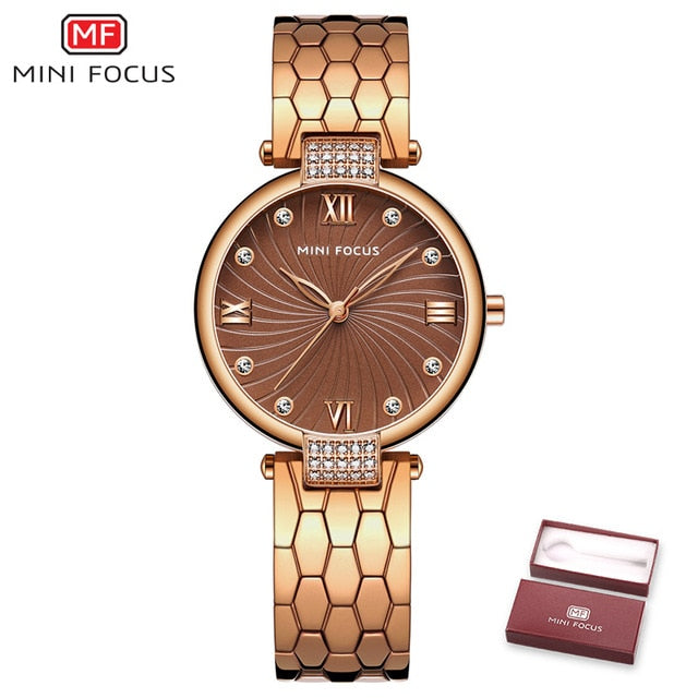 MINI FOCUS Fashion Quartz Watch for Women MF0186L.01
