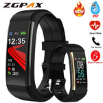 Smart Band Blood Pressure Measurement Pedometer Fitness Tracker