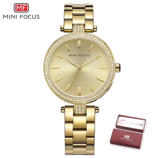 MINI FOCUS Fashion Quartz Watch for Women RMF0039L