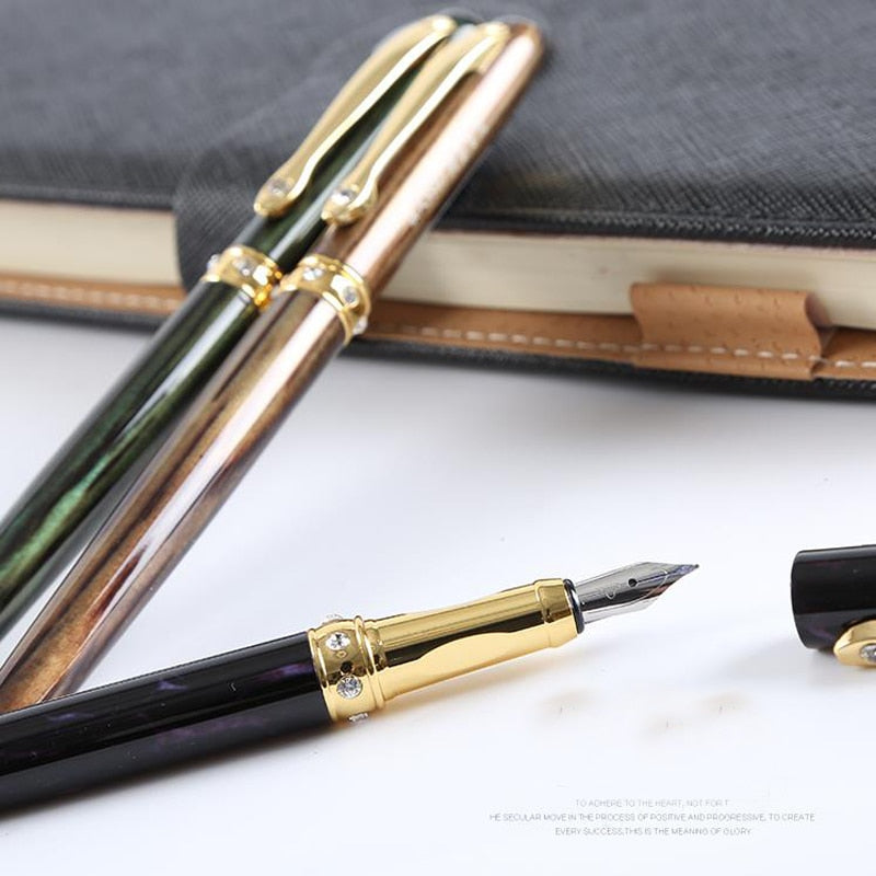 Stainless Steel Luxury Fountain Ink Pen