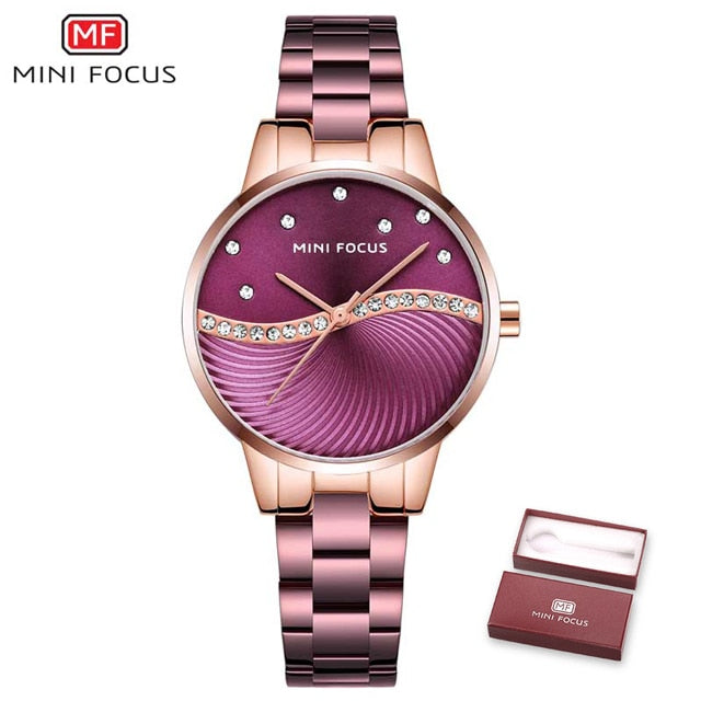 MINI FOCUS Fashion Quartz Watch for Women MF0263L