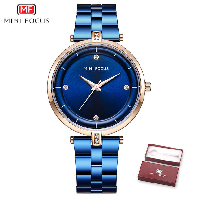 MINI FOCUS Fashion Quartz Watch for Women MF0120L