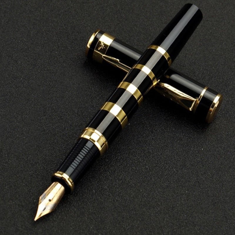 Luxury Fountain Ink pen with Golden Clip