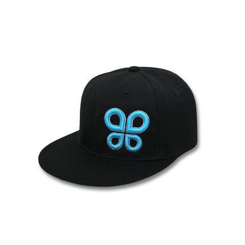 Chica Black/Turquoise Hat