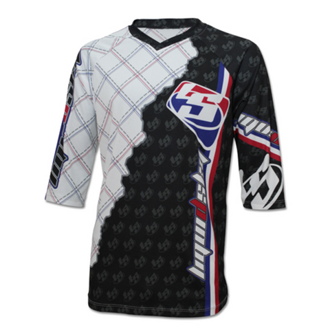 Racing Front 3/4 Sleeve Jersey