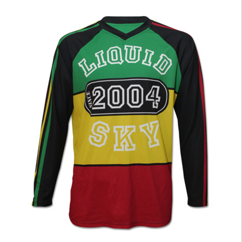 Rasta College Front Long Sleeve Jersey