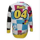 Mustache Back Long Sleeve Jersey
