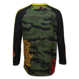 Camo Dragon Back Long Sleeve Jersey