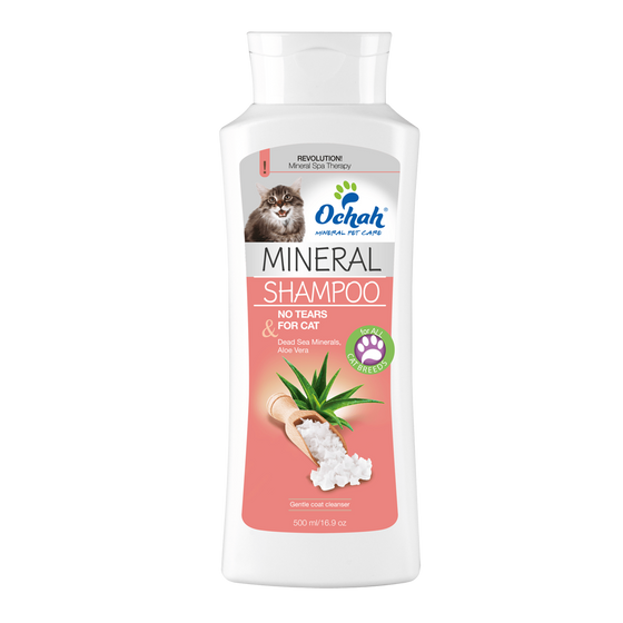 For Cats - Mineral Salt Shampoo with Aloe Vera
