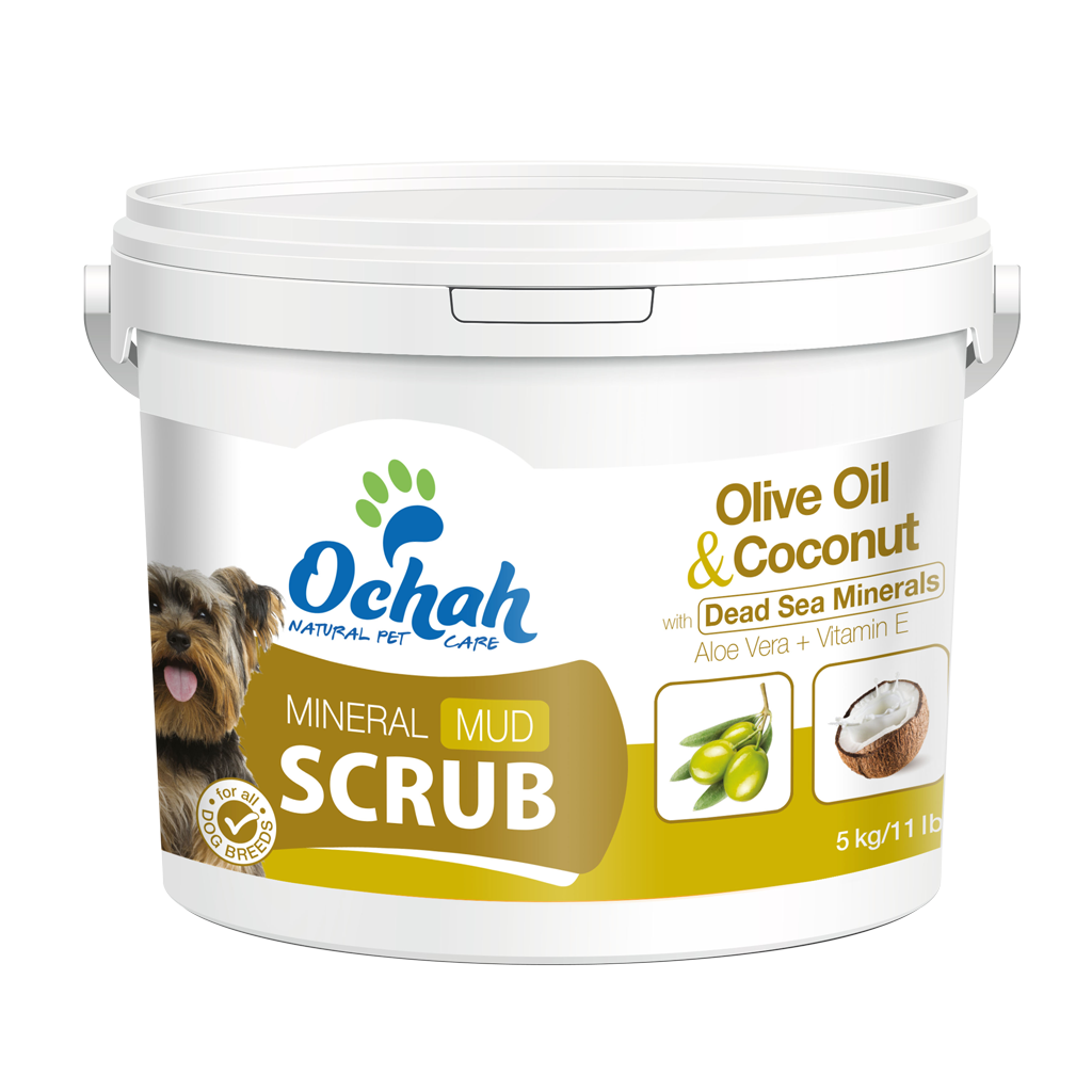 ANTI-OXIDANT - Mineral Mud Scrub with Olive Oil and Coconut