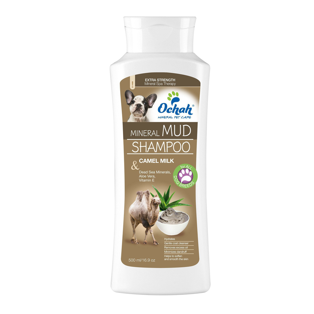 Mineral Mud Shampoo with Camel Milk