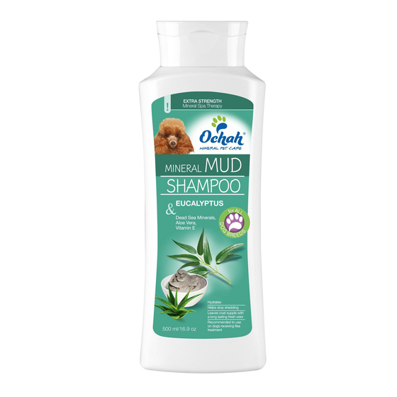Mineral Mud Shampoo with Eucalyptus