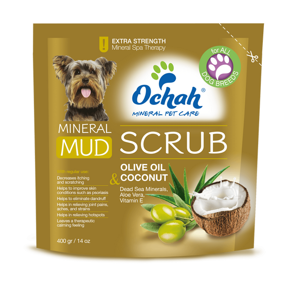Mineral Mud Scrub with Olive Oil