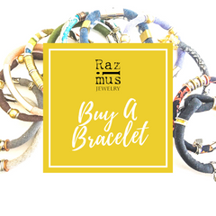 Buy A Bracelet from Razimus Jewelry and pay it forward to small business