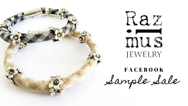 Facebook Sample Sale: $29.50 Bracelets