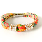 {3 Left} KRISTEN 2-band upcycled 'sunshine' cotton bracelet to benefit Every Mother Counts
