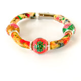 INDIA upcycled 'sunshine' cotton bracelet to benefit Every Mother Counts {12 OF A KIND}