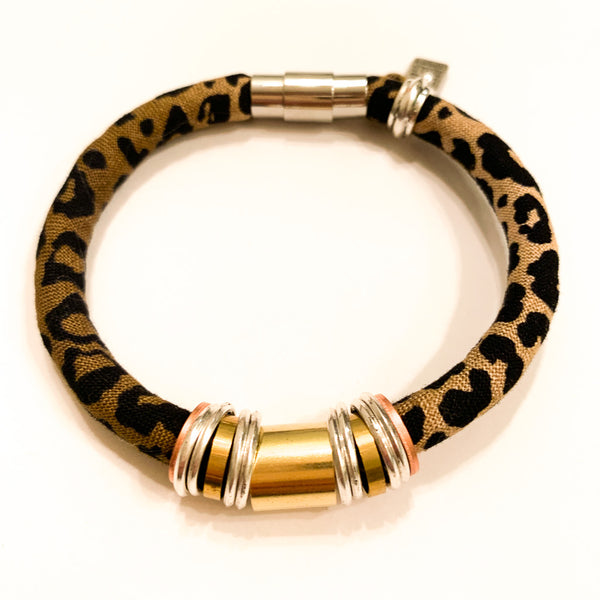 Limited Edition MARIAN bracelet in leopard print