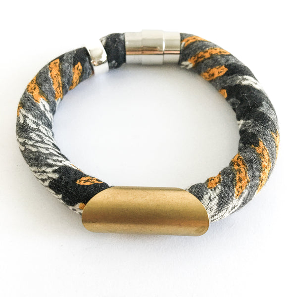 LAST ONE: thick vintage designer dress bracelet
