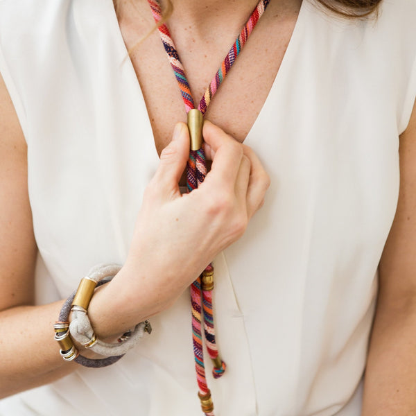 {last ones} SHERYL bolo necklace (available in 3 colors)