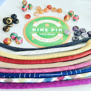 {SAMPLE SALE: 2 left} Organic Navajo print bracelets : SAMPLE #23